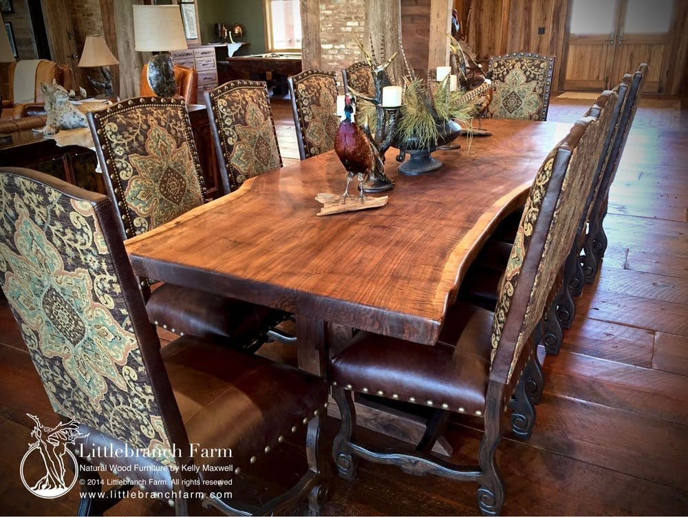 Littlebranch Farm | Natural wood furniture by Kelly Maxwell